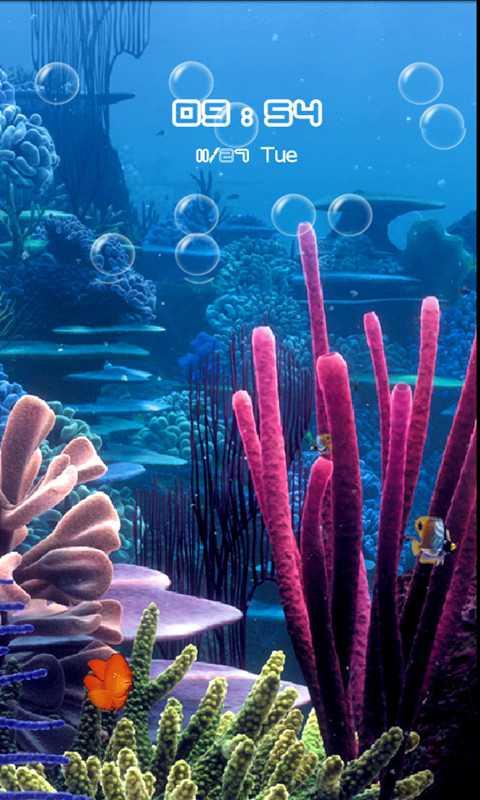 海底动态手机壁纸