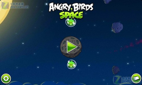 愤怒的小鸟太空手机版