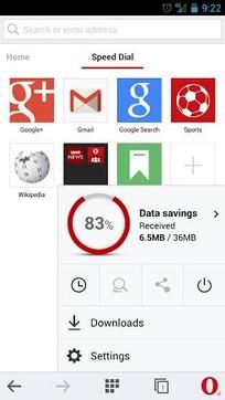Opera浏览器手机版